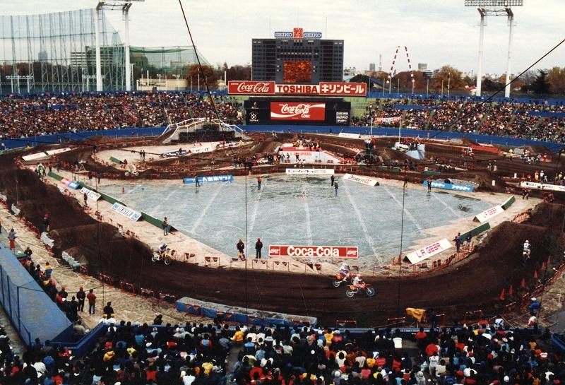 1987年 ジャパン・スーパークロス 昭和58年~ | 球場史 | 明治神宮野球場 よくあるご質